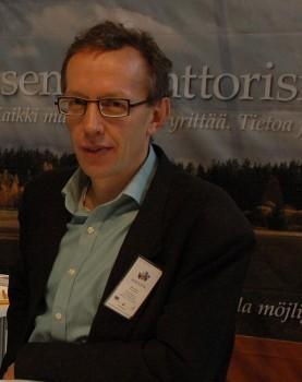 Mats Nurmio, företagsrådgivare.