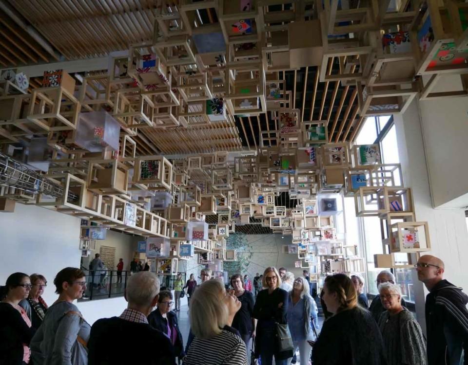 en utställning