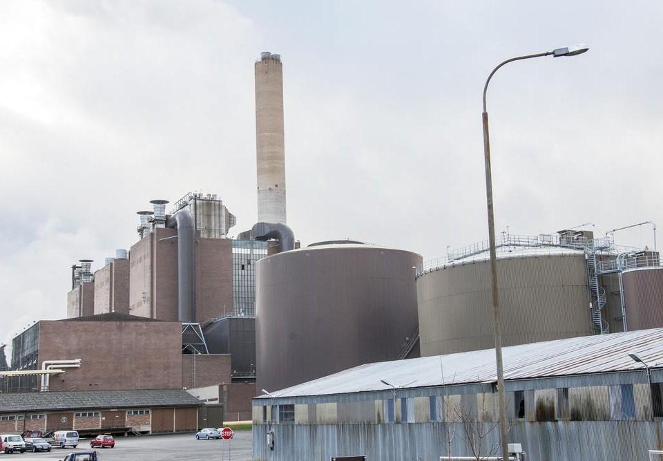 ett kraftverk