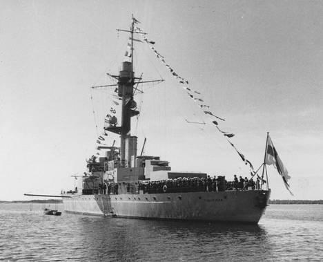 ett skepp i svartvitt