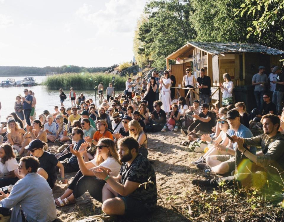 Ilmiö är tillbaka. Festivalen ordnas i slutet av juli i danspaviljongen i Uittamo. Bilden är från fjolårets festival. Foto: Sami Heiskanen