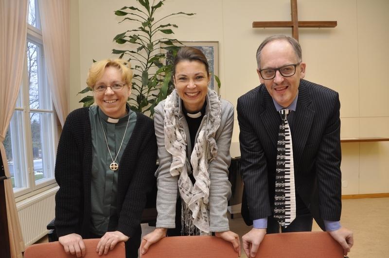 Katarina Dahlqvist är kyrkoherde i Kimitoöns församling