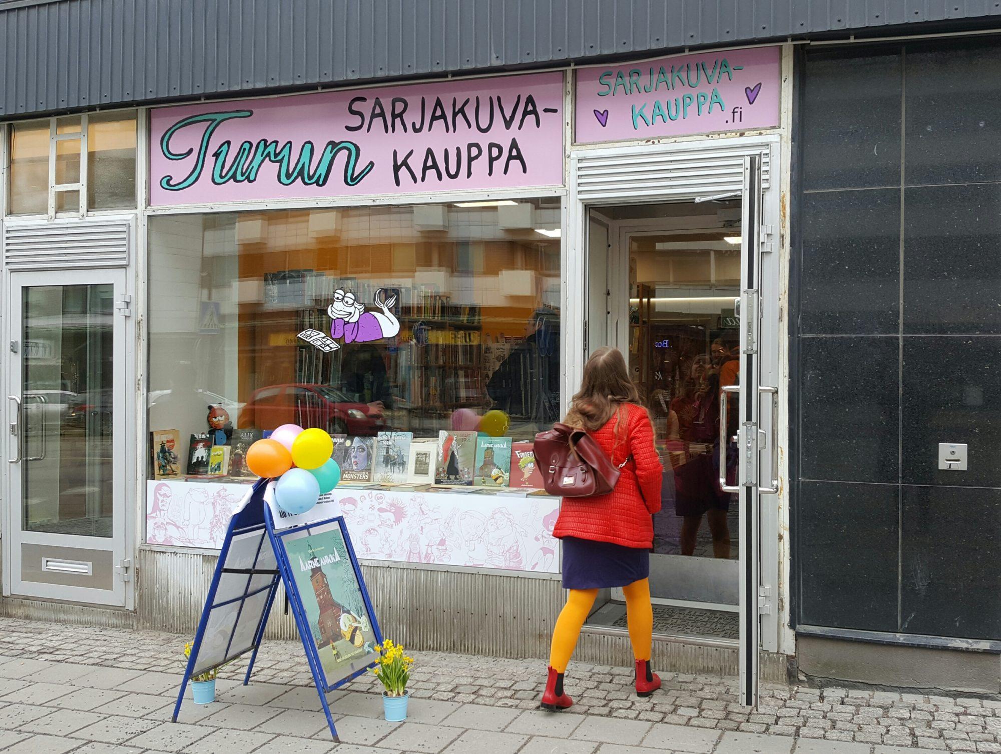 Turun Sarjakuvakauppa Helsinki