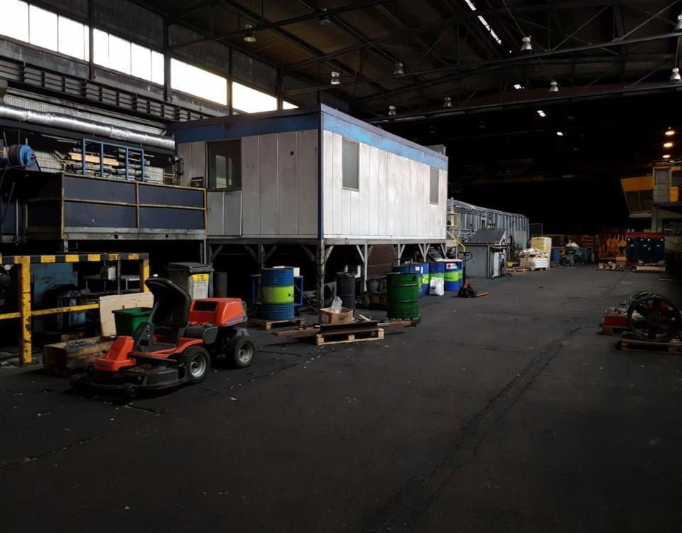 En fabrikshall