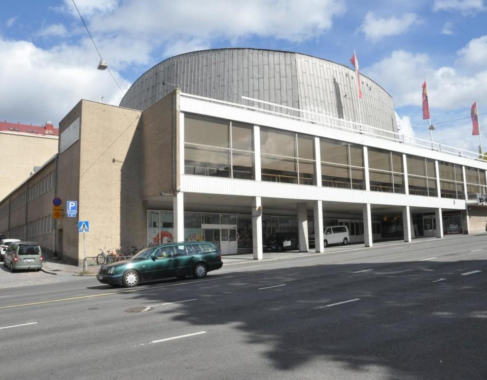 Ett stort konserthus,