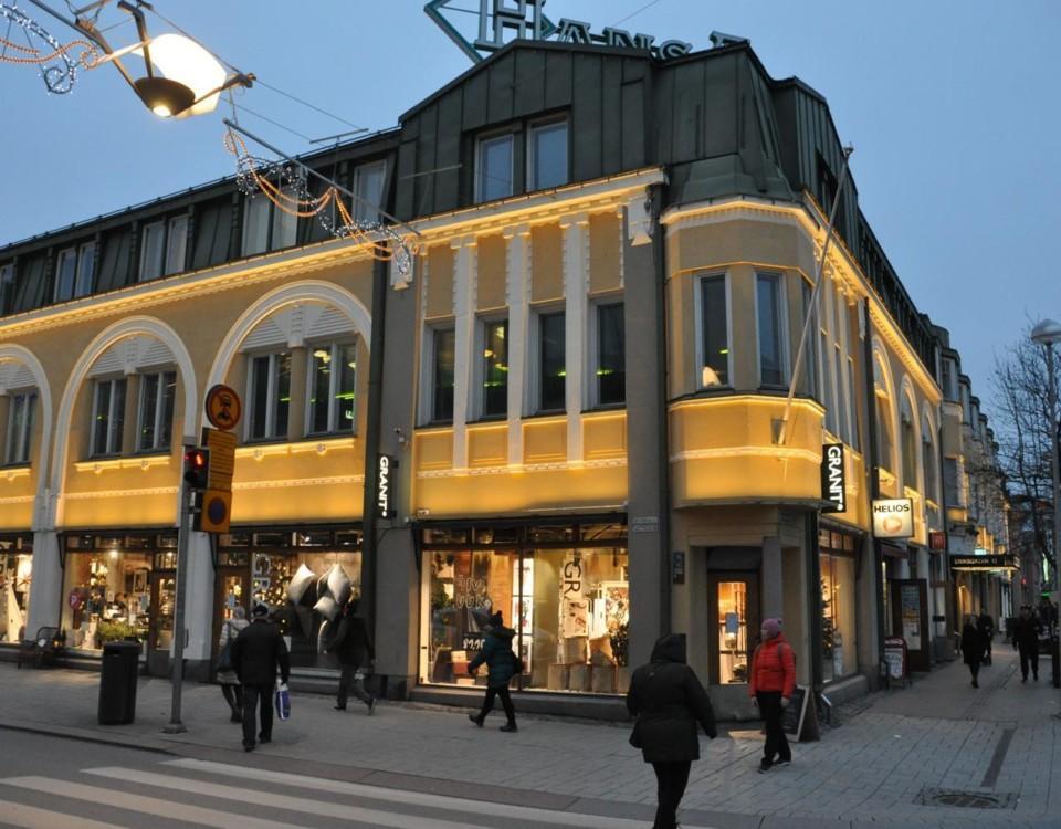 Stenhus i stad