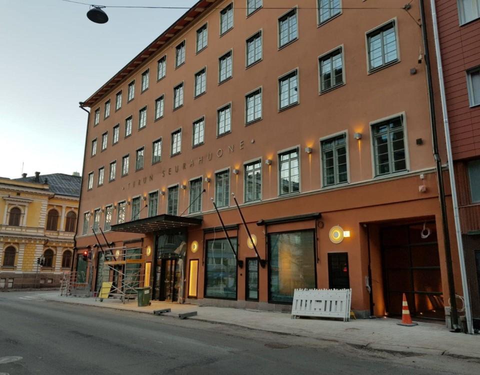 Gammalt stenhus i Åbo