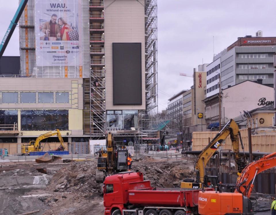 Åbo Salutorg grävs upp