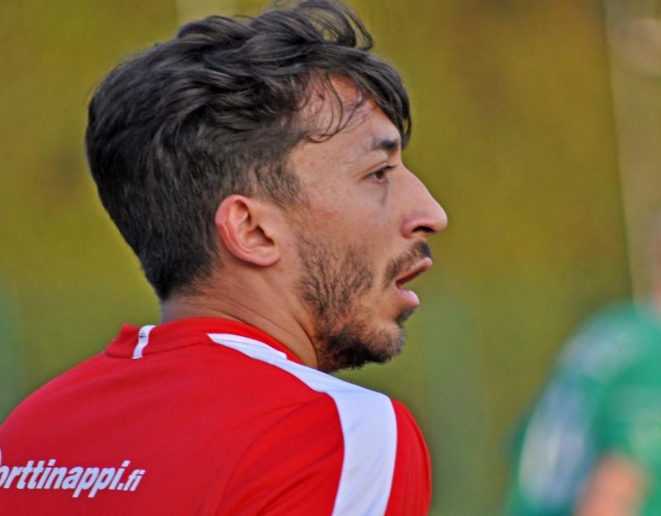 En fotbollsspelare