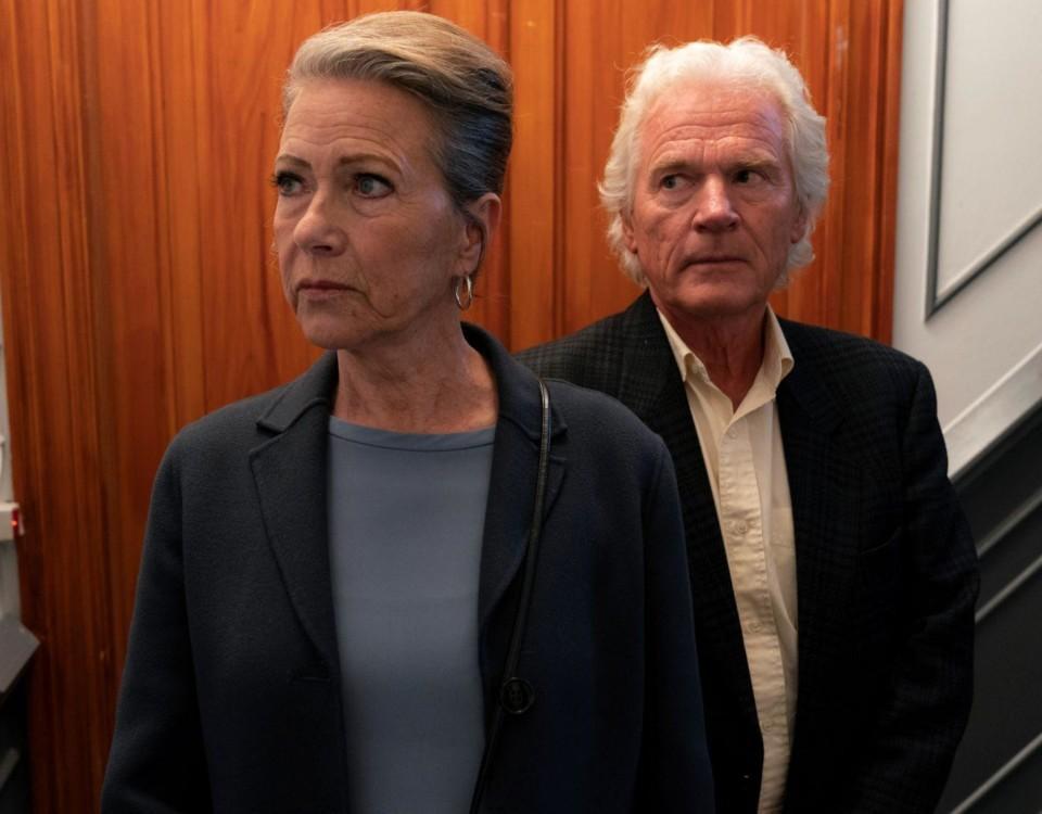 En äldre man och en äldre kvinna