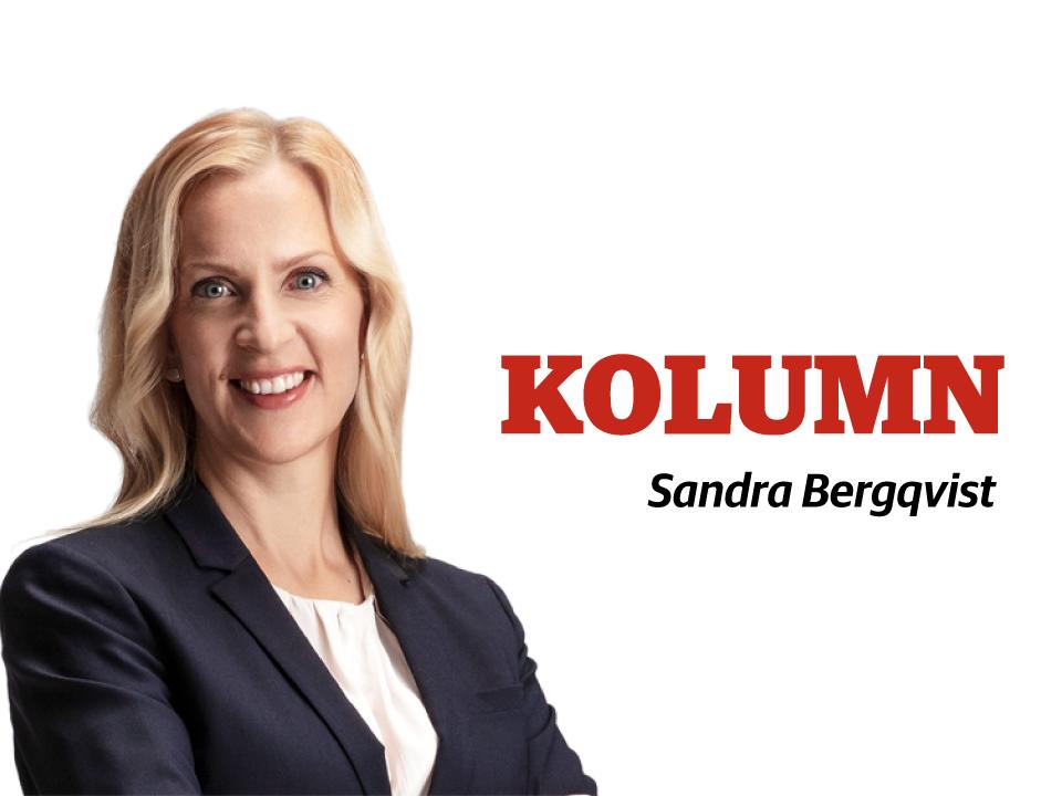 Bild på Sandra Bergqvist, riksdagsledamot för SFP, 2019-