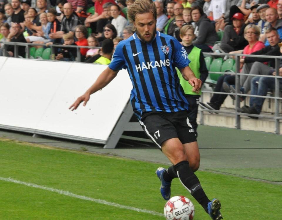 Fotbollspelaren Mika Ojala