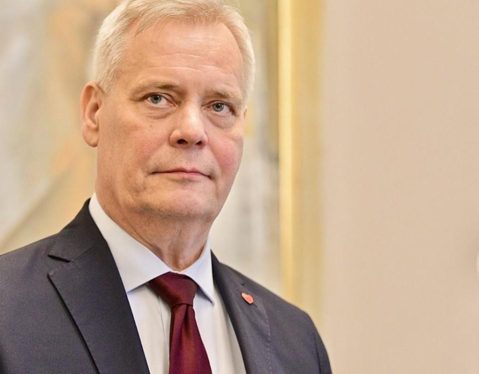 Antti Rinne. Foto: SPT