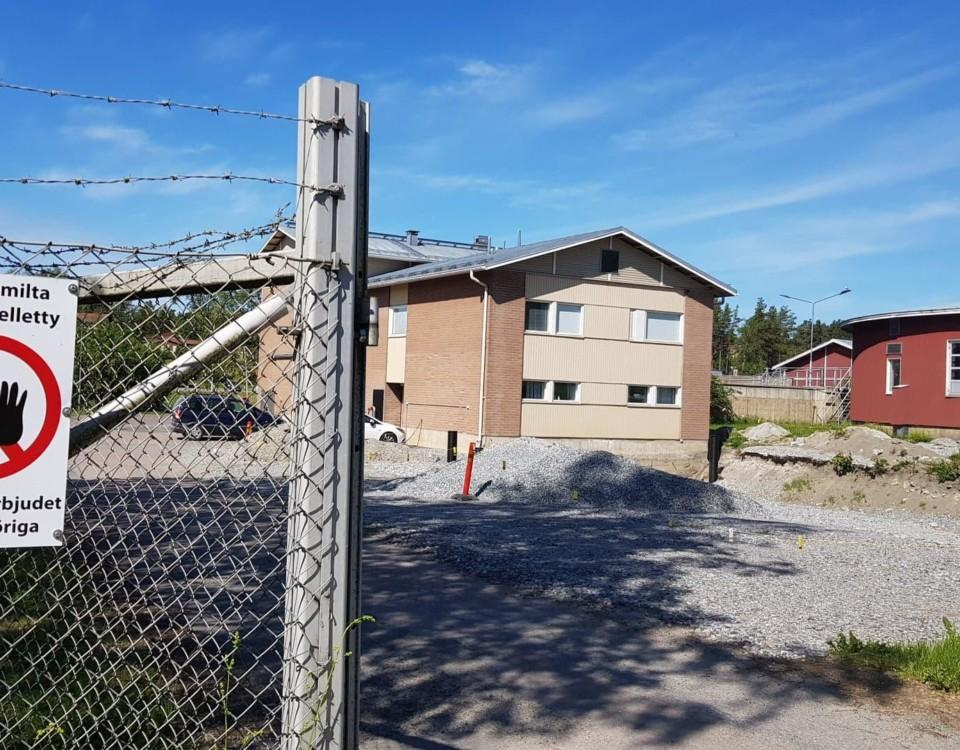 Reningsverket i Pargas, Norrby. Avloppsvattnet från Pargas centrum renas i enheten i Norrby. Här planeras en ny byggnad för all personal. Kommunala reningsverk finns även för centrumområdena i Nagu, Korpo och Houtskär.