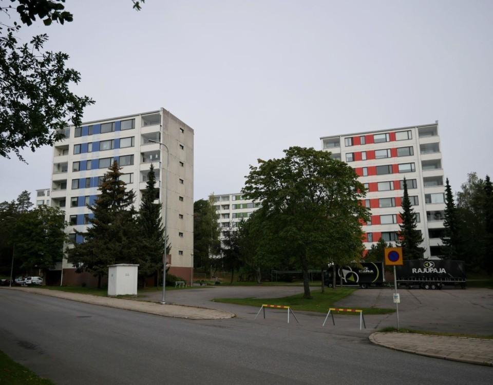 Höghusområde