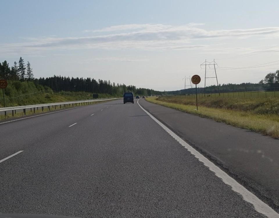 tom motorväg