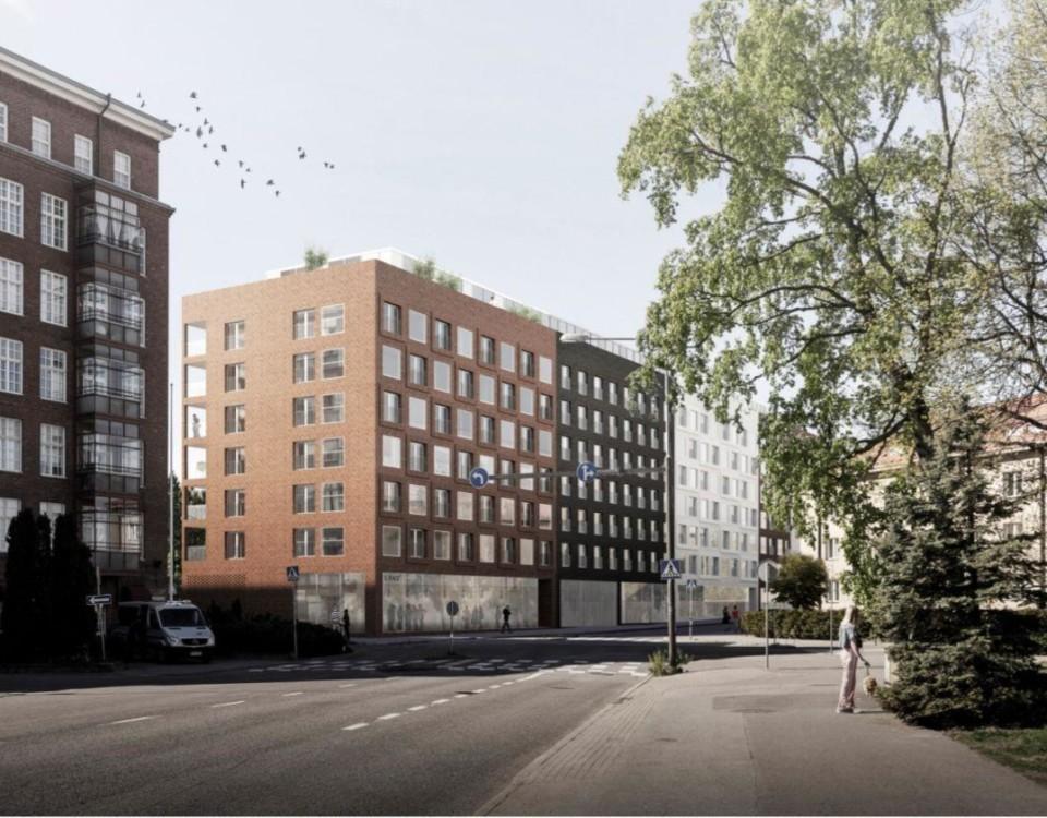 Arkitektens syns på två nya höghus