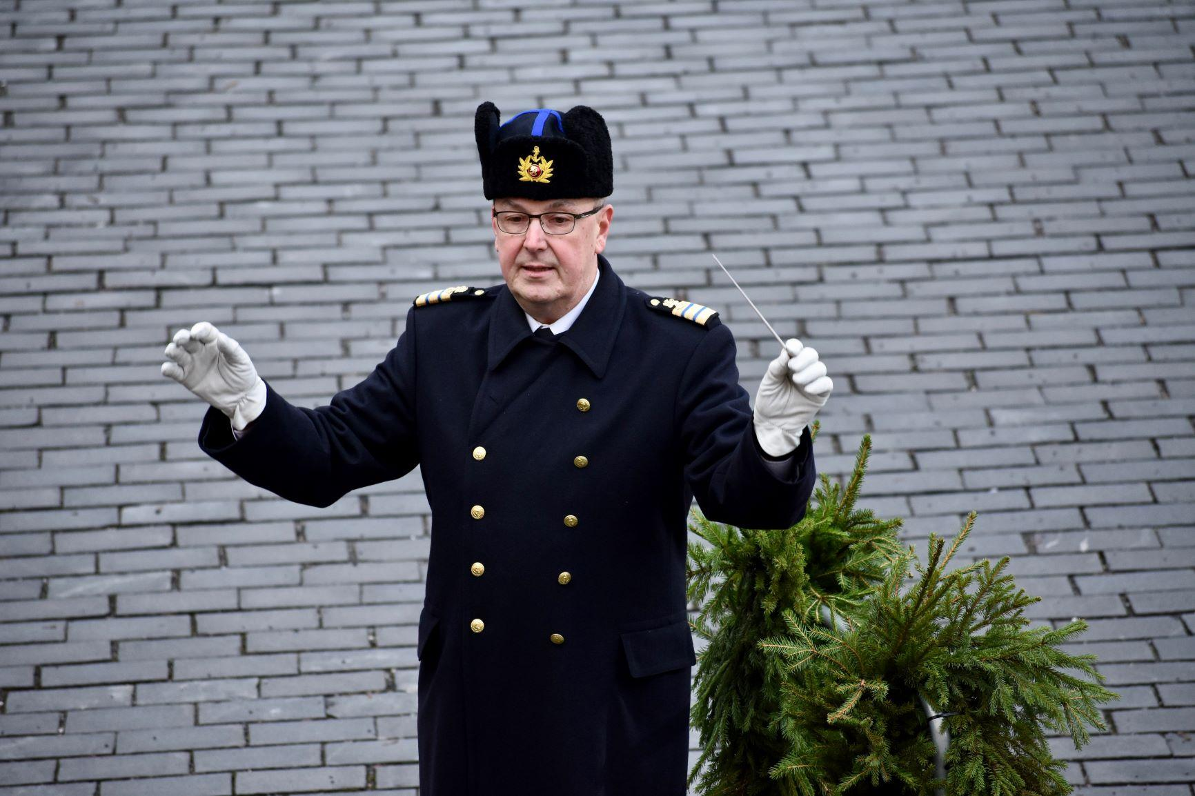 Petri Junna dirigerade! Foto: Mikael Piippo, SPT