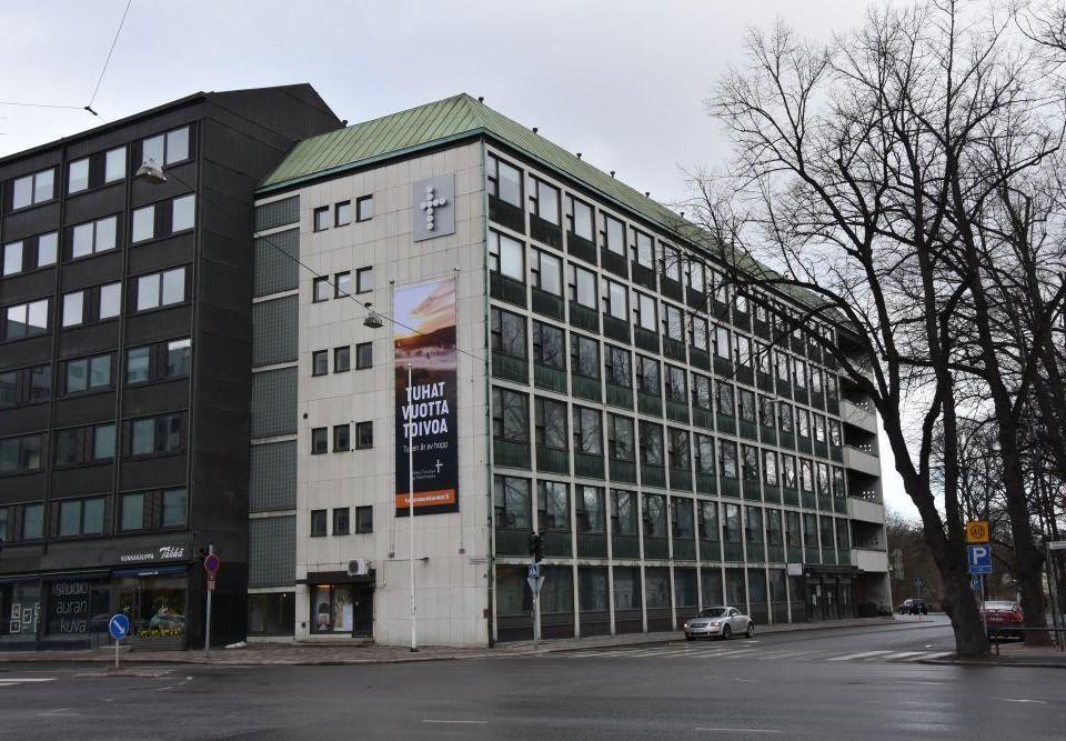 Stort hus i centrum av Åbo.