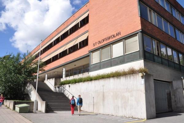 Byggnad fotograferad utifrån.