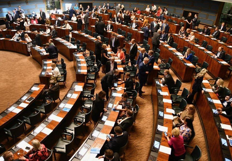 En riksdagssal