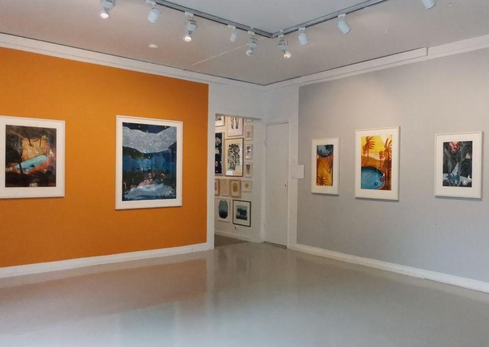 Galleri med konst