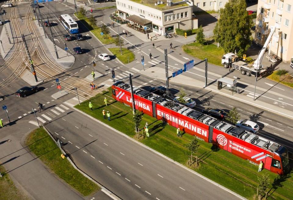 Spårvagn i Tammerfors