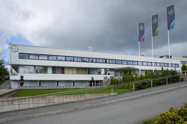 Bayers fabrik från utsidan