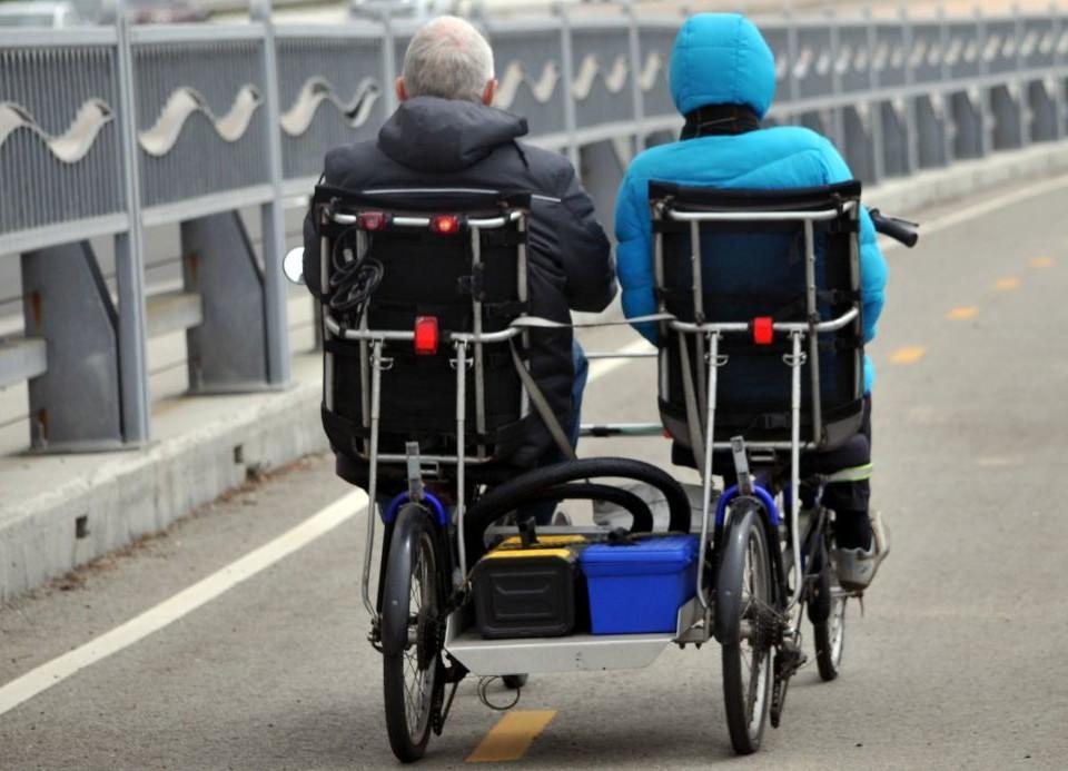 Cykel för två