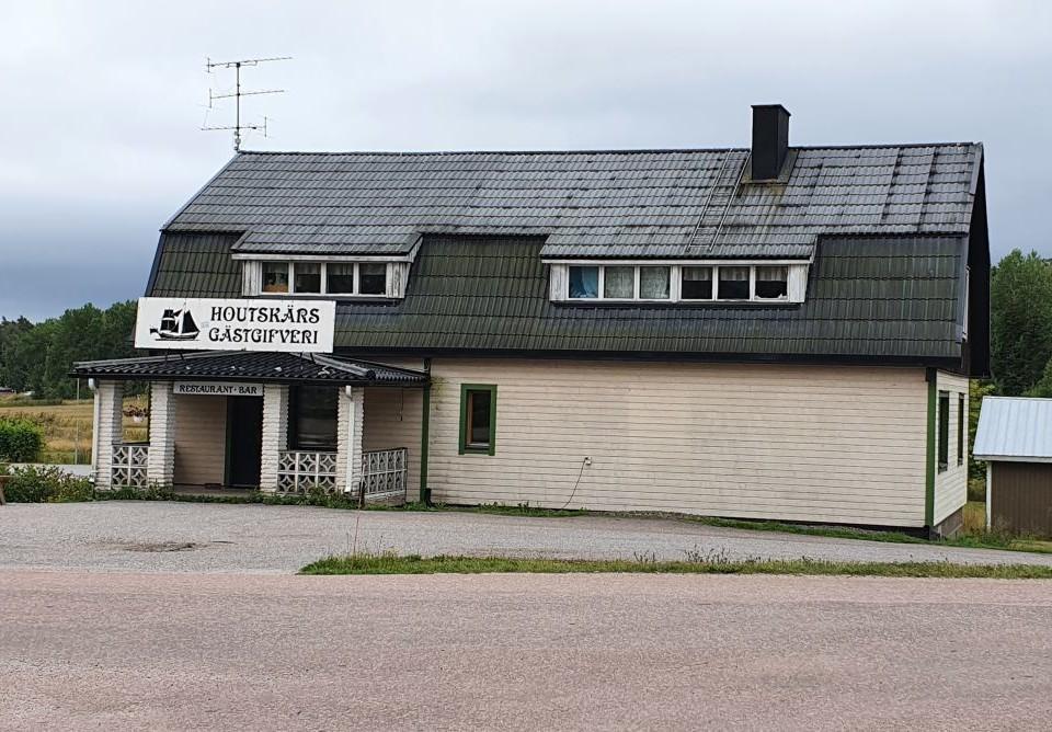 restaurangbyggnad på tom gård, Houtskärs Gästgifveri