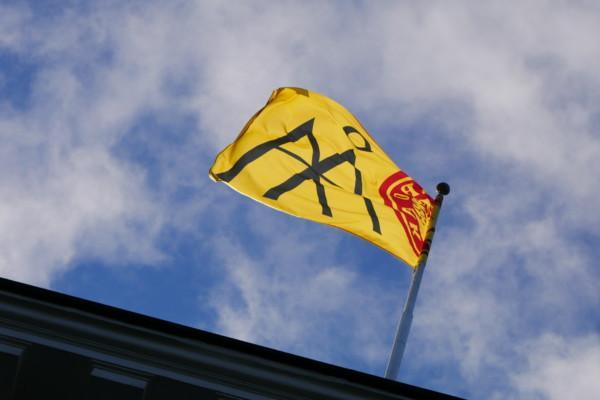Åbo akademis flagga