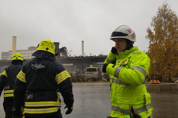 tre brandmän