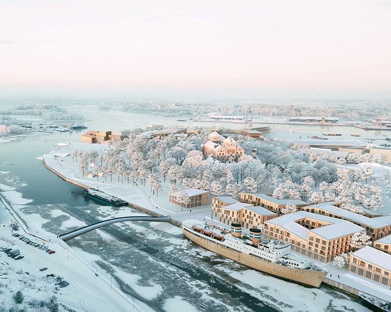En vision äver Åbo hamn