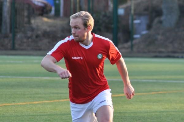 fotbollsspelare i farten