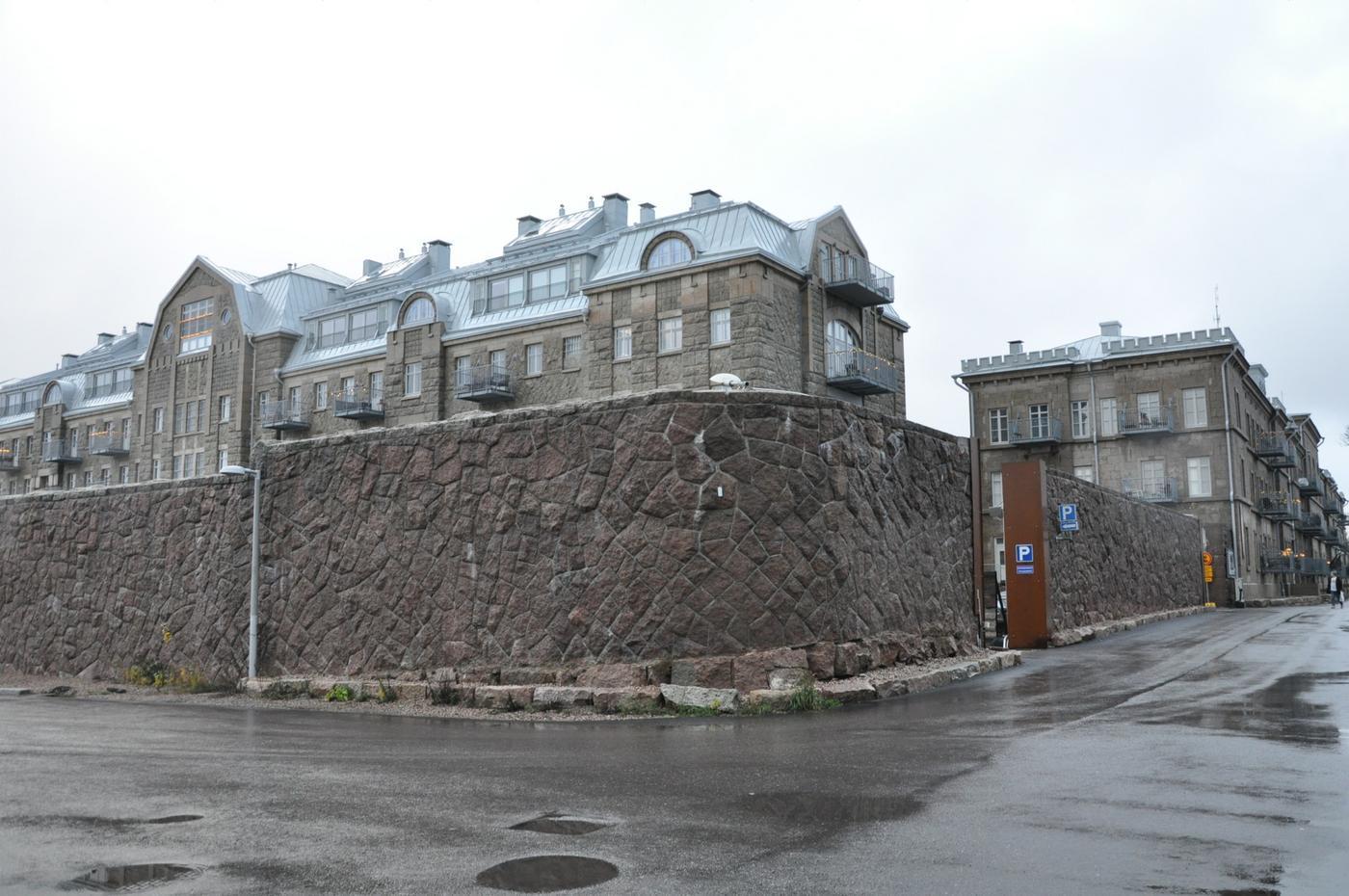 gamla fängelsebyggnader