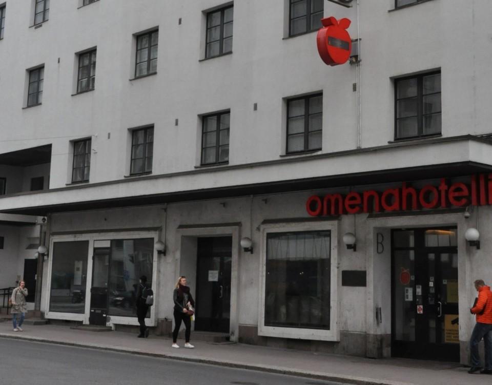hotellbyggnad i Åbo