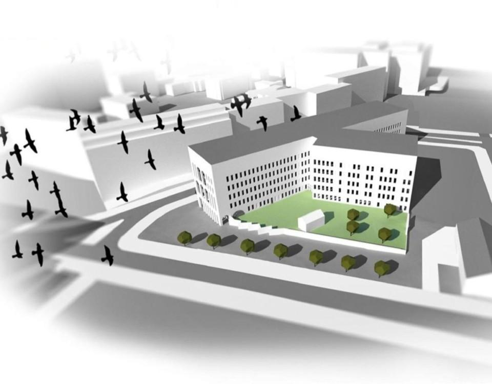 Vision av framtida sjukhus