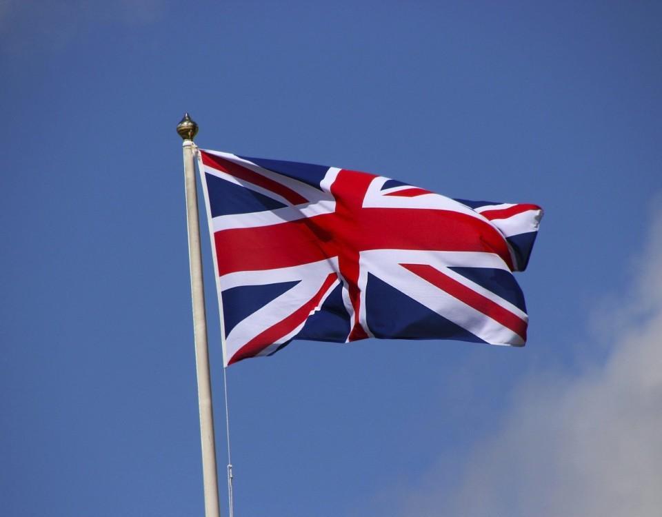 Storbritanniens flagga