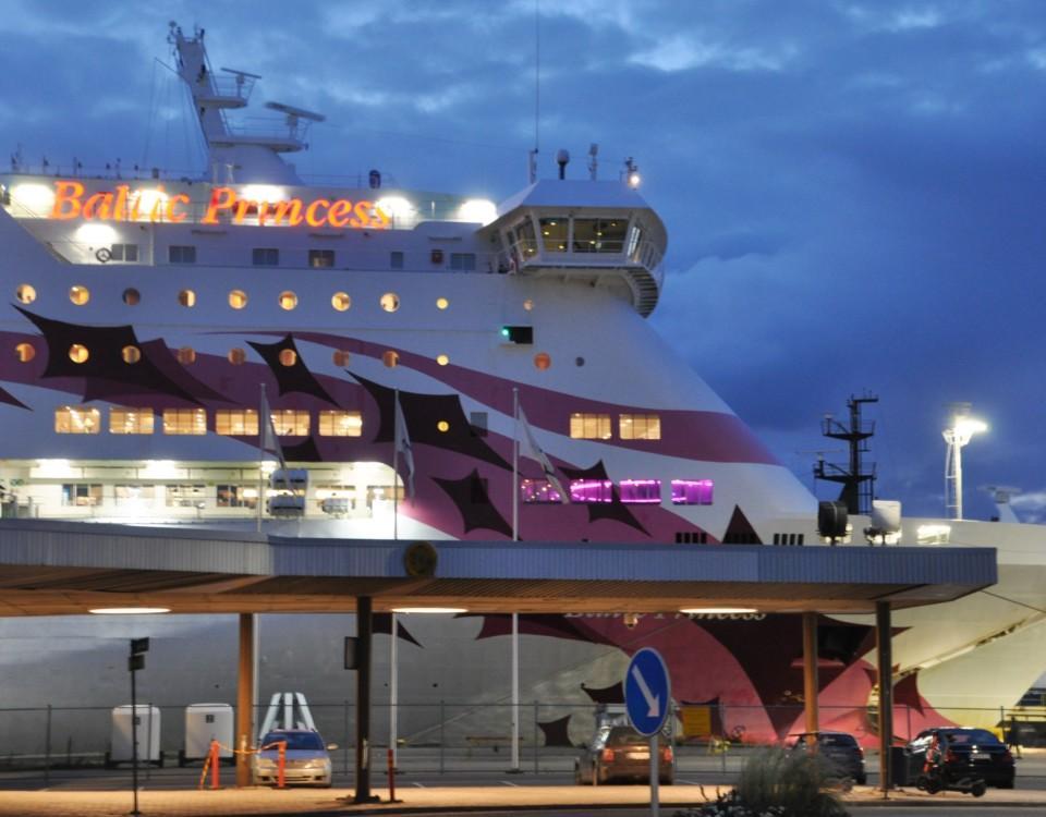 Passagerarfartyg i Åbo hamn
