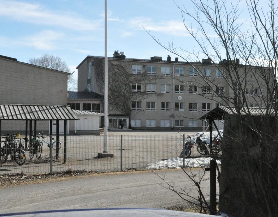 en skolgård