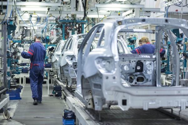 Valmets bilfabrik i Nystad
