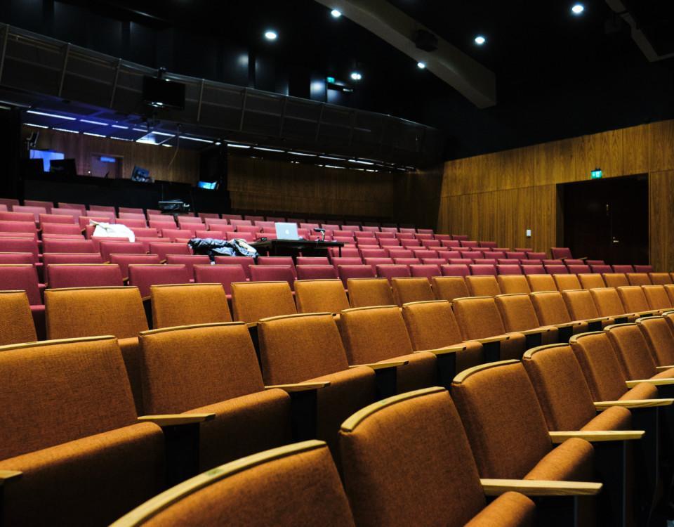 en tom teater
