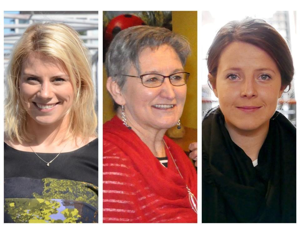 Tre kvinnor som är Åbopolitiker