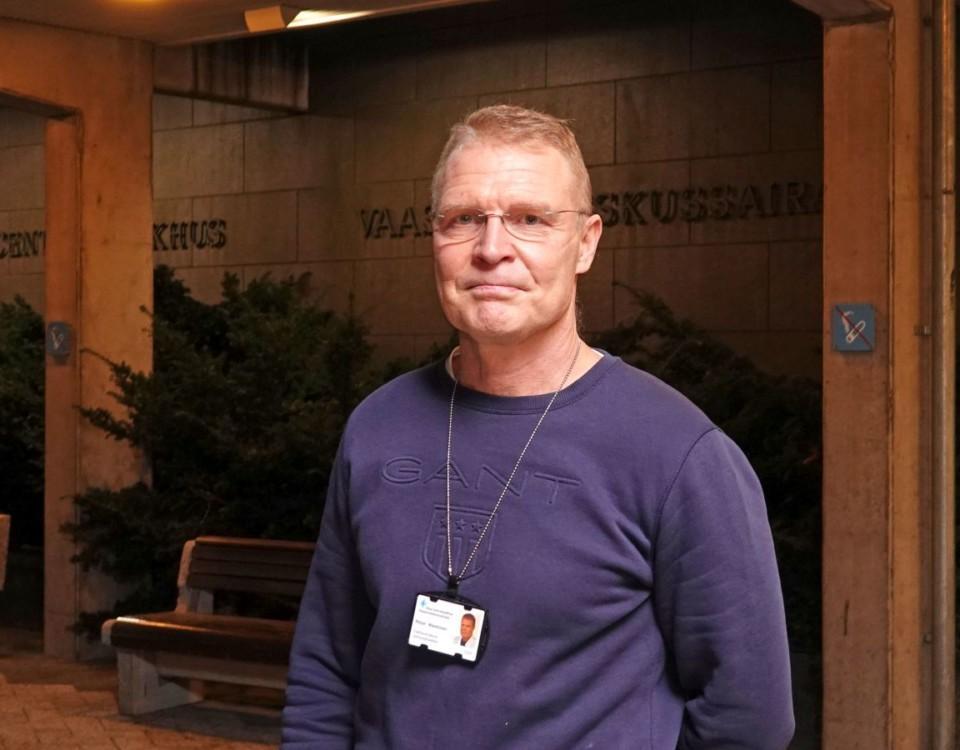 Vasa sjukvårdsdistrikts chefsöverläkare Peter Nieminen