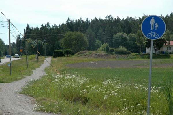 En cykelväg