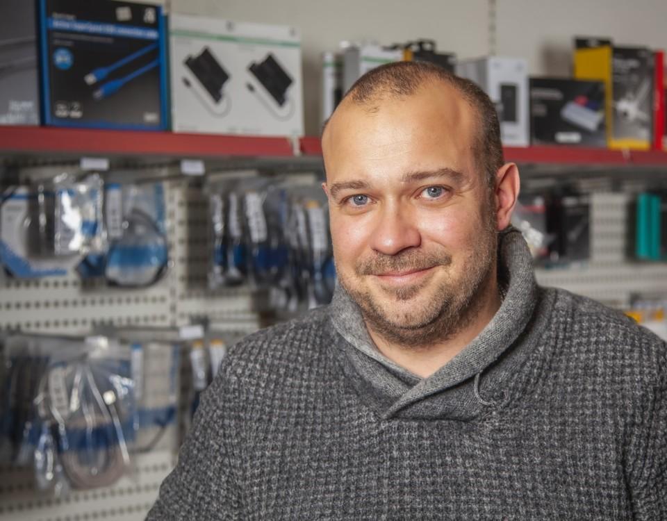 Företagare för Archipelago Technincs Kasper Kronberg