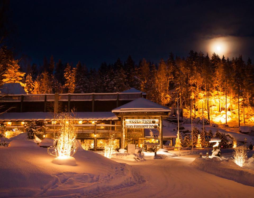 Hotel & Spa Resort Järvisydän utifrån sett