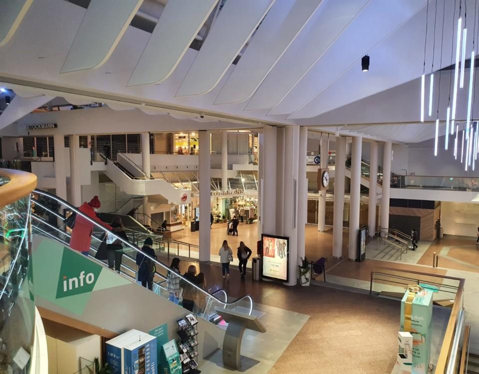 ett köpcentrum