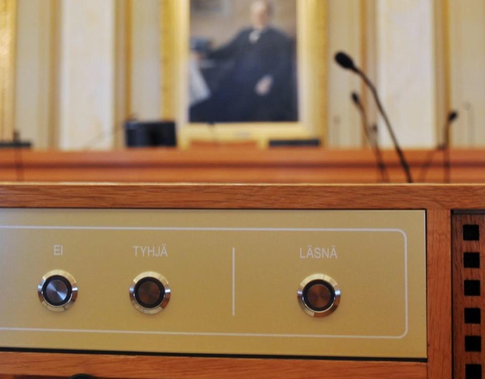 Åbo stadsfullmäktiges sessionssal