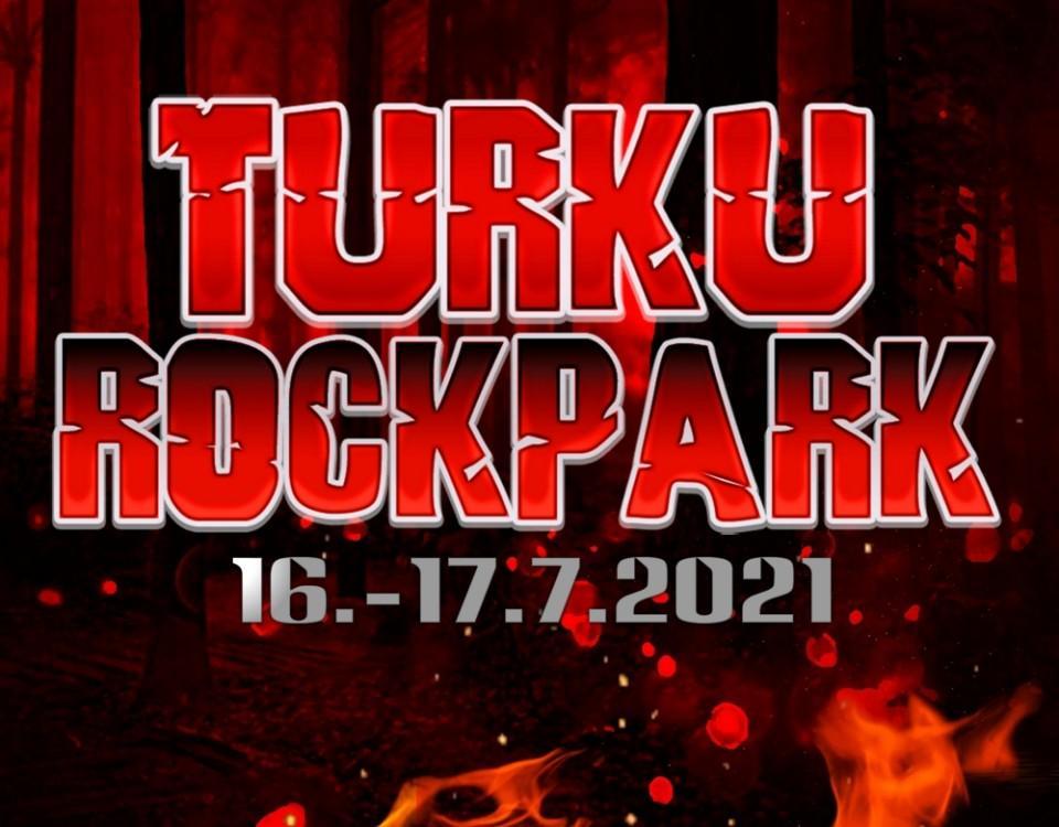 """Logga med texten """"Turku rockpark"""" och datumet 16-17.7 2021"""